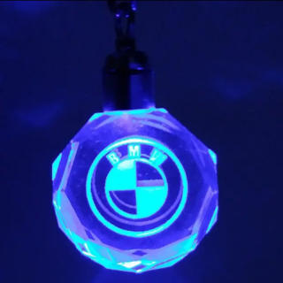 BMW - BMW クリスタル LEDキーホルダー 送料込み