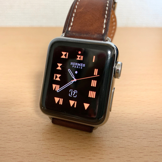 アップルウォッチ(Apple Watch)のApple watch HERMES エルメスモデル Series2 (腕時計)