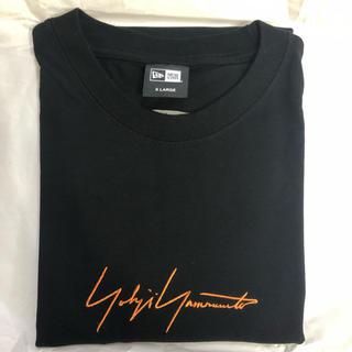ヨウジヤマモト(Yohji Yamamoto)の限定 Yohji Yamamoto ニューエラ SS19 ブラック × オレンジ(Tシャツ/カットソー(半袖/袖なし))