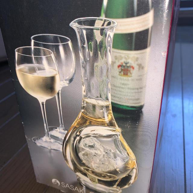 東洋佐々木ガラス(トウヨウササキガラス)のワインカラフェ インテリア/住まい/日用品のキッチン/食器(アルコールグッズ)の商品写真