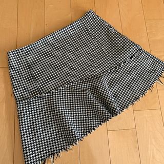 ZARA - ザラ 千鳥柄スカート