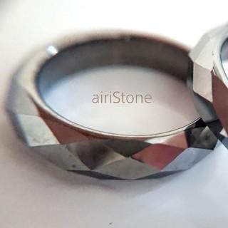 再販*テラヘルツリングミラーカット(リング(指輪))