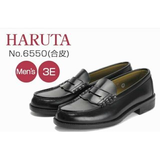 ハルタ(HARUTA)の【未使用】ハルタ HARUTA メンズローファー 黒(ドレス/ビジネス)