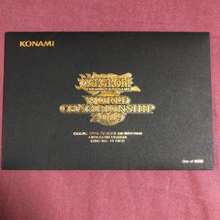 KONAMI - 遊戯王 WCS2019世界大会プロモ 真紅眼の黒竜 死者蘇生 シークレットレア