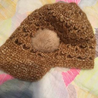 コムサイズム(COMME CA ISM)の毛糸の帽子(ニット帽/ビーニー)