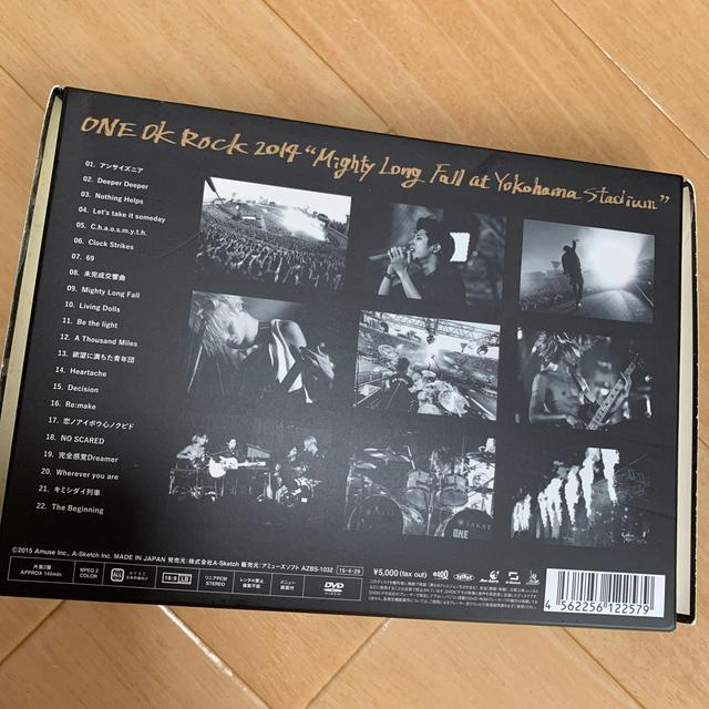 "ONE OK ROCK(ワンオクロック)のONE OK ROCK 2014""Mighty Long Fall at Yok エンタメ/ホビーのDVD/ブルーレイ(ミュージック)の商品写真"
