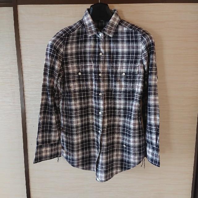 ICB(アイシービー)のicBチェックシャツ レディースのトップス(シャツ/ブラウス(長袖/七分))の商品写真