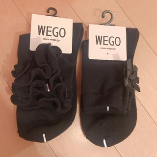 ウィゴー(WEGO)のWEGO 靴下セット フリル リボン(ソックス)