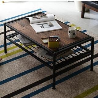 【新品】ローテーブル カフェ コーヒー 北欧 リビング テーブル(ローテーブル)