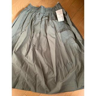 MUJI (無印良品) - 新品 無印良品 イージーギャザースカート