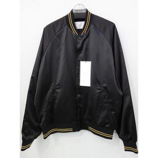 スタンプドエルエー(Stampd' LA)の新品 定価6万円 STAMPD LA 中綿 サテン ブルゾン メンズ XL 黒(ブルゾン)