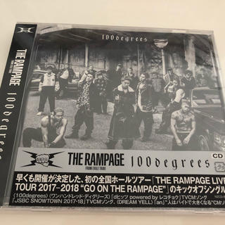 THE RAMPAGE - THE RAMPAGE🖤100degrees