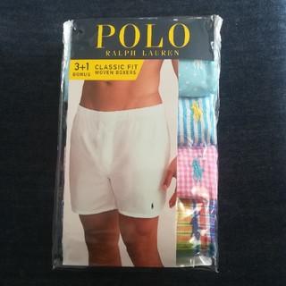 POLO RALPH LAUREN - 【POLO】新品未使用 ラルフローレン トランクス 4枚組 L