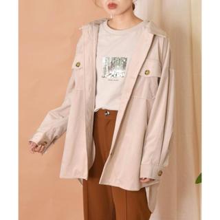 ダブルクローゼット(w closet)のコーデュロイCPOシャツ(ミリタリージャケット)