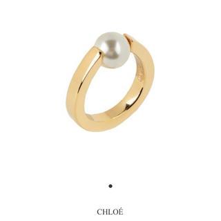 Chloe - 新品 Chloe パールデザインリング 指輪 ゴールド