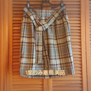 スコットクラブ(SCOT CLUB)のSCOTCLUB スコットクラブ タータンチェックスカート(ひざ丈スカート)