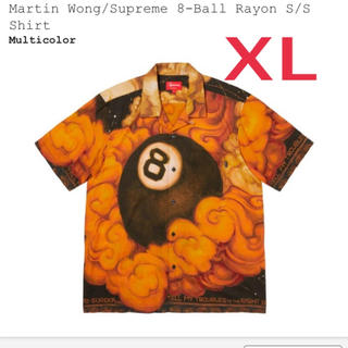 シュプリーム(Supreme)のXL supreme martin wong 8ball rayon shirt(シャツ)