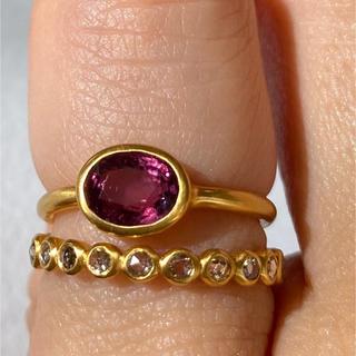 ピンクスピネル k18 ゴールド リング 検索 マリーエレーヌ ジェムパレス(リング(指輪))