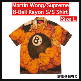 シュプリーム(Supreme)の【L】8-Ball Rayon S/S Shirt(シャツ)