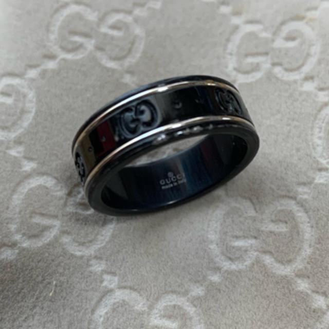 Gucci(グッチ)のグッチ リング GUCCI アイコンリング 17号 レディースのアクセサリー(リング(指輪))の商品写真