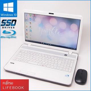 富士通 - 数量限定無線マウスセット Windows10搭載 ノートPC 富士通 AH33J