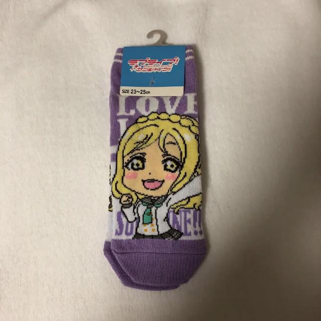 しまむら(シマムラ)の小原鞠莉ちゃん靴下 エンタメ/ホビーのアニメグッズ(その他)の商品写真