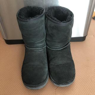アグ(UGG)のUGG黒22センチブーツ(ブーツ)