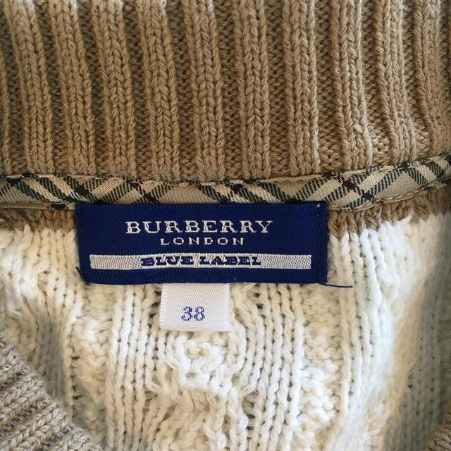 BURBERRY BLUE LABEL(バーバリーブルーレーベル)のバーバリーブルーレーベルのカーディガン レディースのトップス(カーディガン)の商品写真