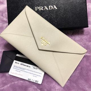 プラダ(PRADA)のPRADA サファイアーノ レター(財布)