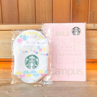 Starbucks Coffee - スターバックス フラペチーノ ポーチ スタバ ペンケース キャンパス ノート