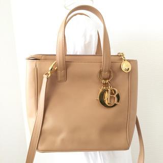 クリスチャンディオール(Christian Dior)の正規品 ChristianDior ディオール 2way ショルダーバッグ(ショルダーバッグ)