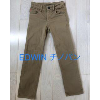 ベドウィン(BEDWIN)のEDWIN☆ベージュパンツ 130cm(パンツ/スパッツ)
