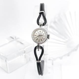 ロレックス(ROLEX)の【仕上済】ロレックス オーキッド K18 WG カットガラス 腕時計(腕時計)
