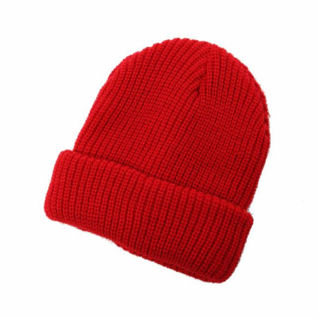 WEGO(ウィゴー)の【新品未使用】アゼニットキャップ ワインレッド レディースの帽子(ニット帽/ビーニー)の商品写真