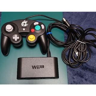 Wii U - スマブラタップとGCコンブラック