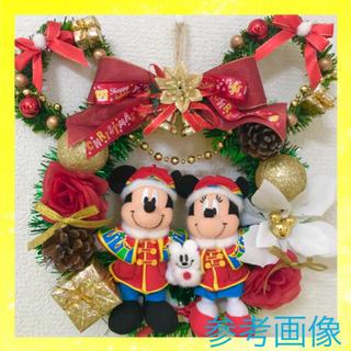 Disney - 限定1品⭐️】ミッキー ミニー & ミニー型 クリスマスリース セット★