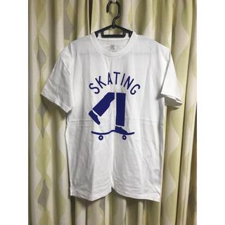 Design Tshirts Store graniph - graniph T-shirt  (白 SKATING)
