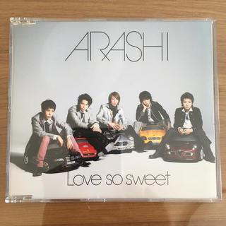 アラシ(嵐)の嵐 love so sweet(ポップス/ロック(邦楽))