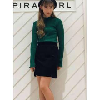 スパイラルガール(SPIRAL GIRL)のスパイラルガールラメニット美品(ニット/セーター)