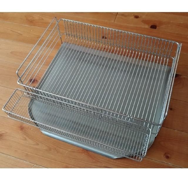 la base(ラバーゼ)水切りカゴ インテリア/住まい/日用品のキッチン/食器(収納/キッチン雑貨)の商品写真