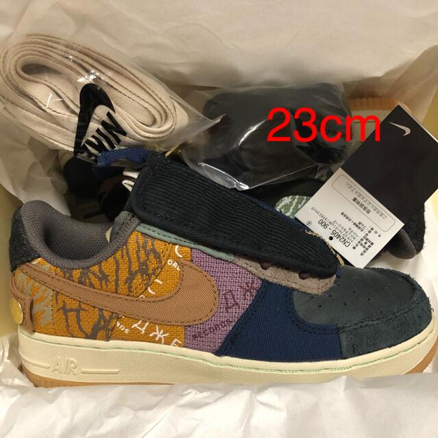 NIKE(ナイキ)の【送料込み】23cm エアフォース1 トラヴィス スコット カクタスジャック メンズの靴/シューズ(スニーカー)の商品写真