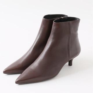 スピックアンドスパン(Spick and Span)の【MARIAN】ショートブーツ2 ブラウン35(ブーツ)