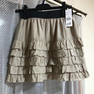 ローリーズファーム(LOWRYS FARM)の新品タグ付きLOWRYSFARMのミニスカート(ミニスカート)