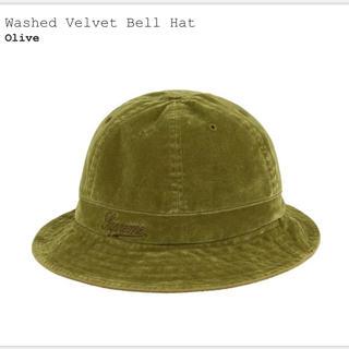 Supreme - supremeシュプリーム Washed Velvet Bell Hat ハット