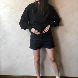 GU - ショートパンツ 黒