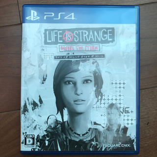 PlayStation4 - ライフイズストレンジ ビフォアザストーム PS4
