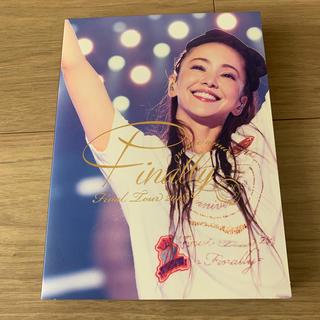 安室奈美恵 Finally ライブ ブルーレイ 初回生産 ステッカー付(ミュージック)