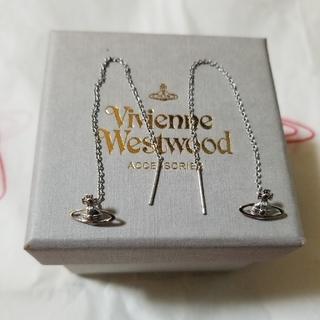 Vivienne Westwood - VivienneWestwood 新品未使用 オーブチェーンピアス
