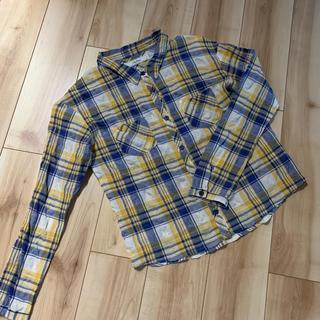 リリーブラウン(Lily Brown)のリリーブラウン  シワ加工チェックシャツ(シャツ/ブラウス(長袖/七分))