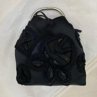 PRADA - 【プラダ♡シルクとビーズ刺繍のミニバッグ】パーティバッグ②未使用品